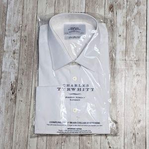Charles Tyrwhitt Poplin French Cuff Dress Shirt
